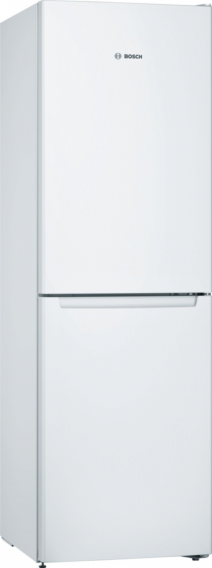 Bosch KGN34NWEAG Serie 2 50/50 Split 186cm High Frost Free Fridge Freezer - White